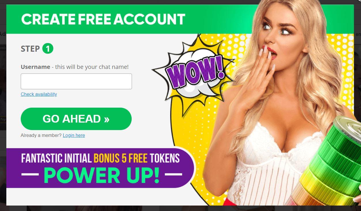 Bongacams.com Free Registration