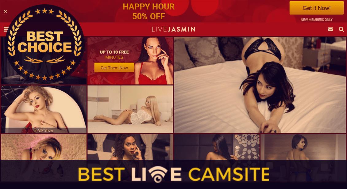 Livejasmin.com homepage