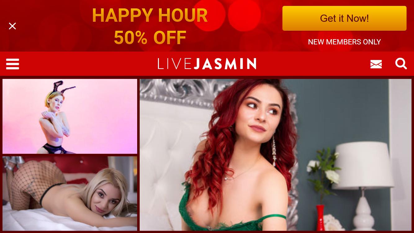 Livejasmin Mobile Friendly Site